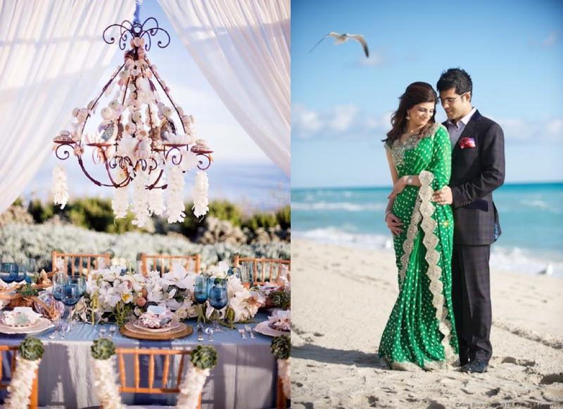 Indian Beach Wedding Inspiration