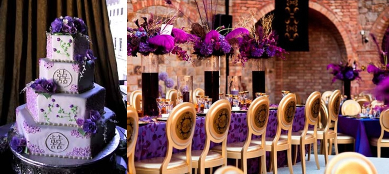Purple Wedding Inspiration - Pink Lotus Events